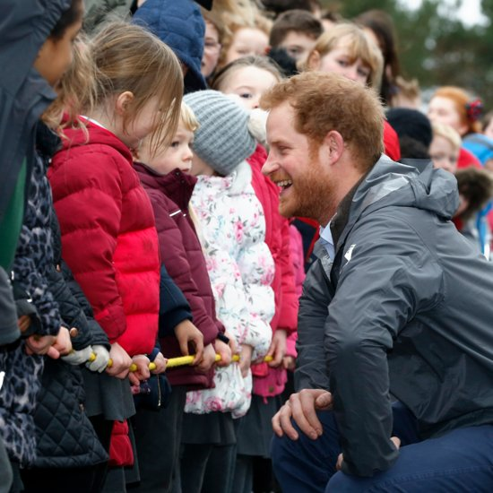 Prince Harry Visits Lancashire England February 2016