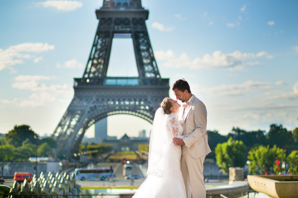 These Gorgeous Photos Will Make You Want to Plan Your Wedding Day in Paris