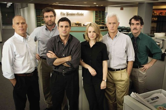 'Spotlight' Crew on Vatican Screening