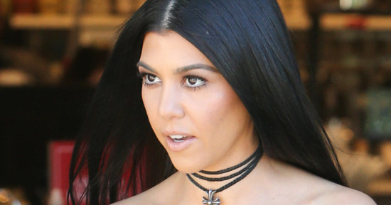 Kourtney Kardashian's American Apparel Shirt Tops Our Cheap Celeb Finds List