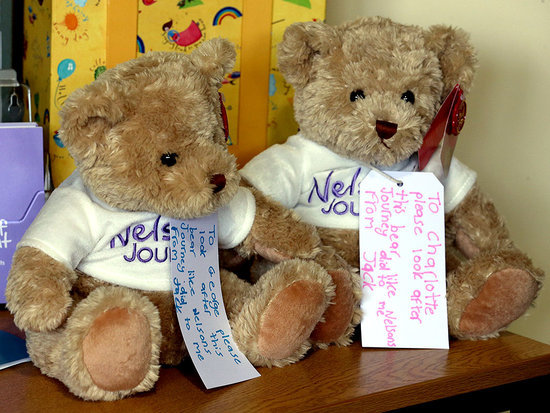 See Prince George and Princess Charlotte's New Teddy Bears - and Their Touching Message
