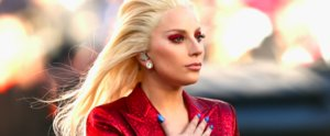 See Lady Gaga's Glistening Super Bowl Beauty Look From Every Angle