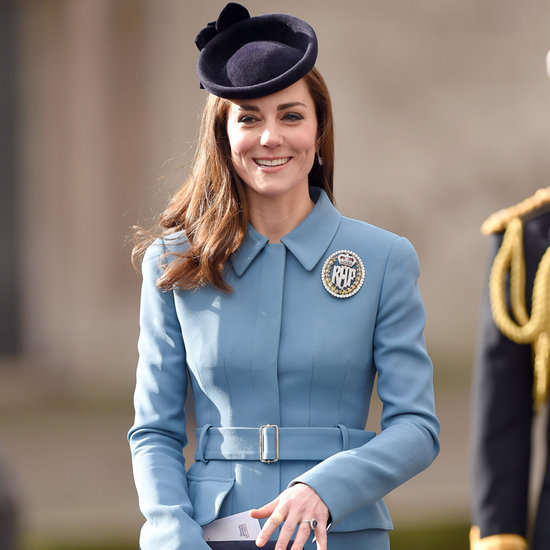 Kate Middleton on the Anniversary of RAF Air Cadets 2016