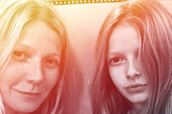 Gwyneth Paltrow Shares Photo With 11 Year Old Daughter, Apple