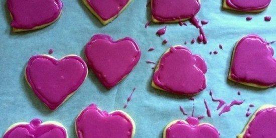 Valentine's Day Baking With Kids