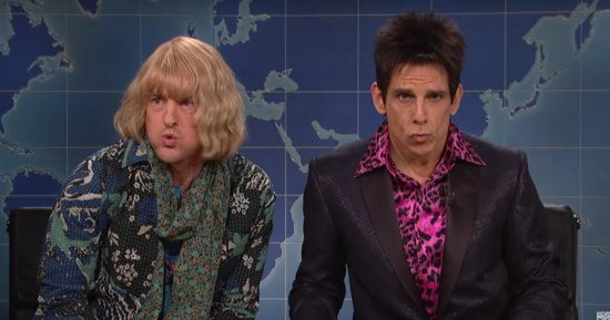 Derek Zoolander And Hansel Are Ridiculously Clueless About Politics On 'Saturday Night Live'