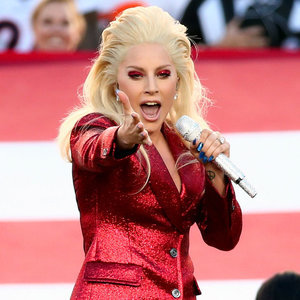 Lady Gaga Dancing at the Super Bowl 2016