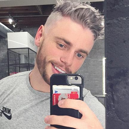 Men Dyeing Their Hair Grey Trend
