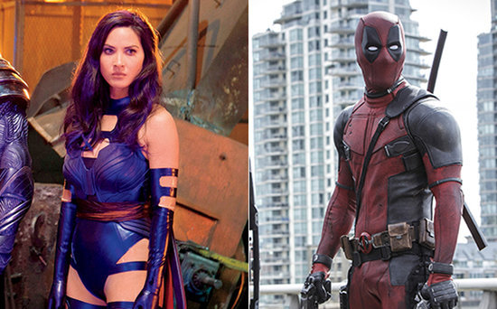 FROM EW: Psylocke vs. Deadpool! Watch Olivia Munn Take On Ryan Reynolds in Cheeky Sword Match