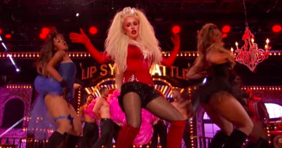 Xtina Crashes Hayden Panettiere's 'Lady Marmalade' Performance On 'Lip Sync Battle'