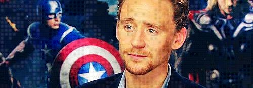 Tom Hiddleston GIFs
