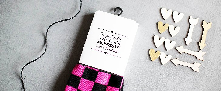 Your Valentines Are Going to Love These Punny Printable Sock Labels