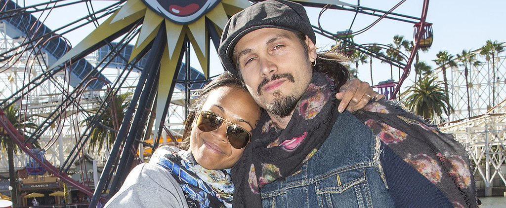 Zoe Saldana and Marco Perego Are So Cute Together, It Actually Hurts