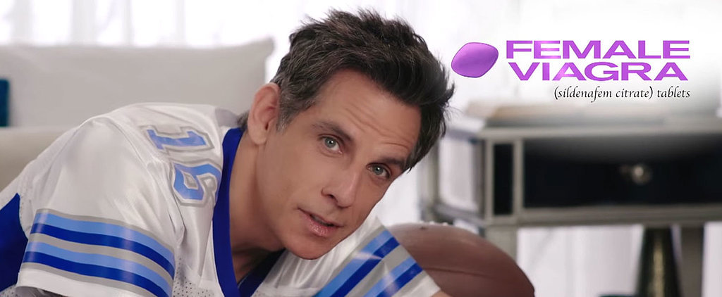 Ben Stiller's Ad For Female Viagra Will Put You in the Mood . . . to Never Touch Your Husband Again