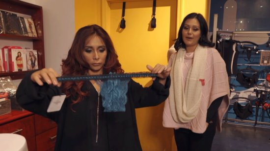 EXCLUSIVE: Snooki and JWoww Explore a Sex Shop Ahead of Valentine's Day in New Web Series