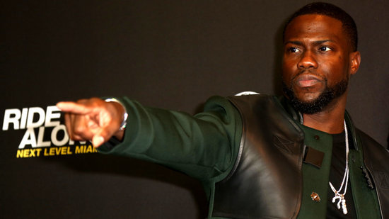 Watch Kevin Hart Have a Total Meltdown When Confronted With a Python on 'Today' Australia