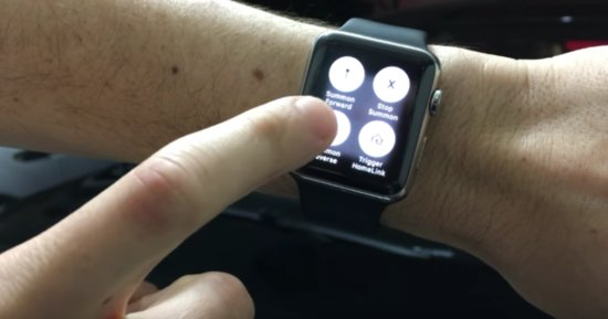 Man Summons Tesla Via Apple Watch, Makes Your Car Look Like A Fossil