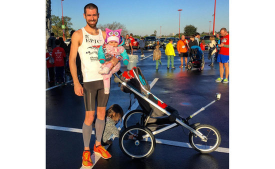 Dad And Baby Break Guinness World Record For Half Marathon