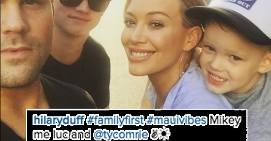 Hilary Duff Is Having The Cutest Family Vacation In Hawaii