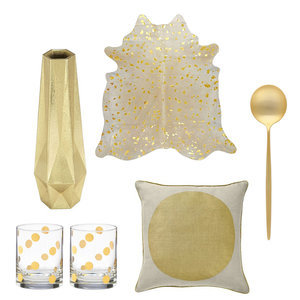 The Best Gold Living Pieces To Buy For Your Home Now