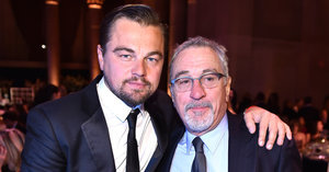 Former Co-Stars Leonardo DiCaprio and Robert De Niro Have a Sweet Reunion at an NYC Gala