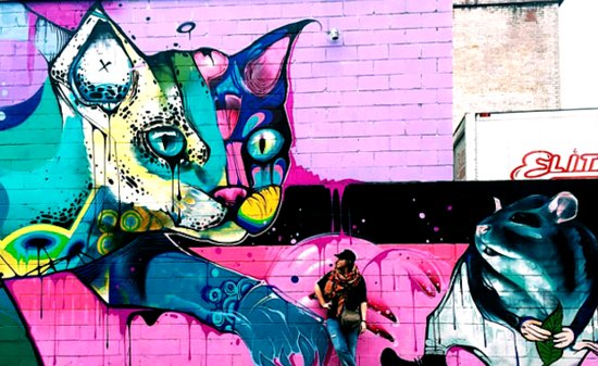 Cat Graffiti Is a Real and Beautiful Thing