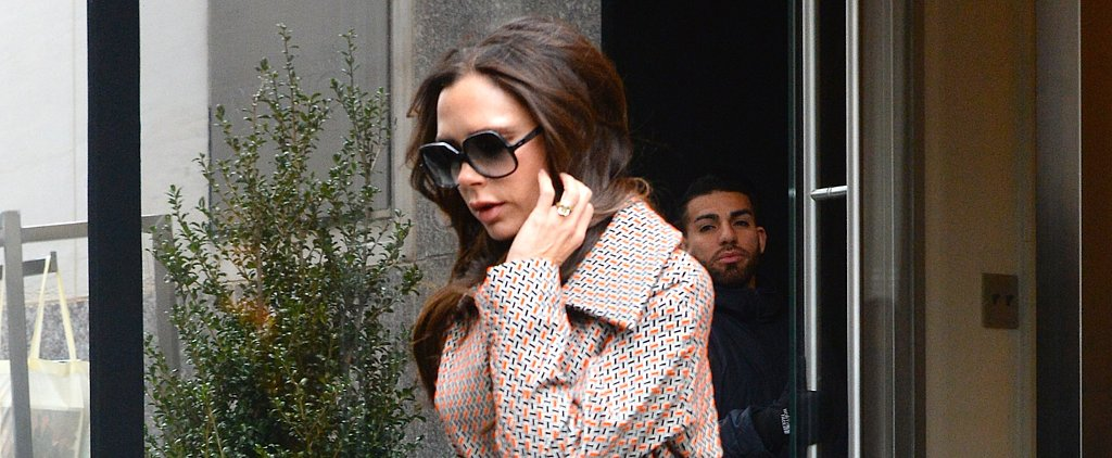 You'll Scream With Delight Over Victoria Beckham's Patterned Set