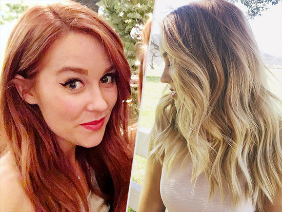 The Blonde Is Back! Lauren Conrad Is a Redhead No More