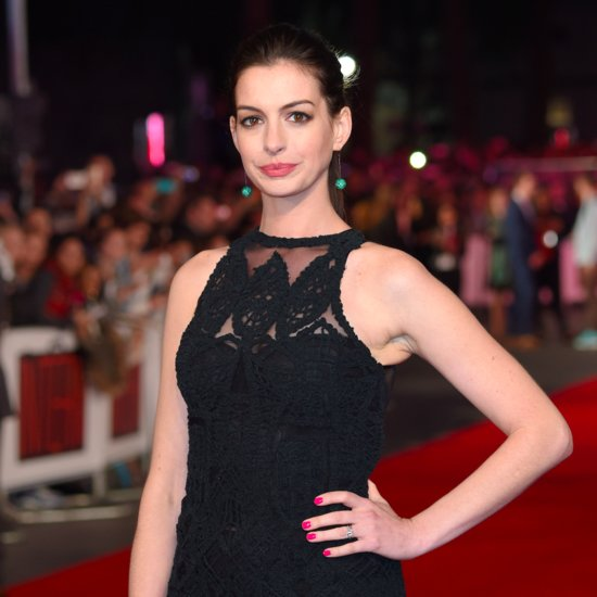 Anne Hathaway Is Now a Blond Bombshell