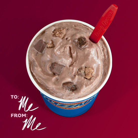 Dairy Queen Singles Blizzard for Valentine's Day