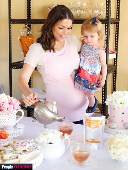 DeAnna Pappas Stagliano's Baby Boy Is Almost Here! Inside Her Sweet 'Big Sister' Tea Party