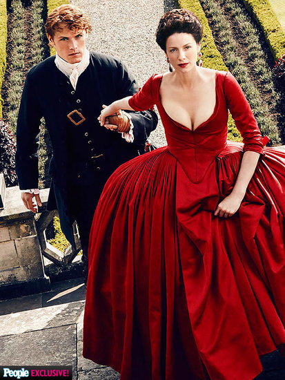 The Outlander Season 2 Trailer Is Here - and We've Got All the Scoop on That Red Dress