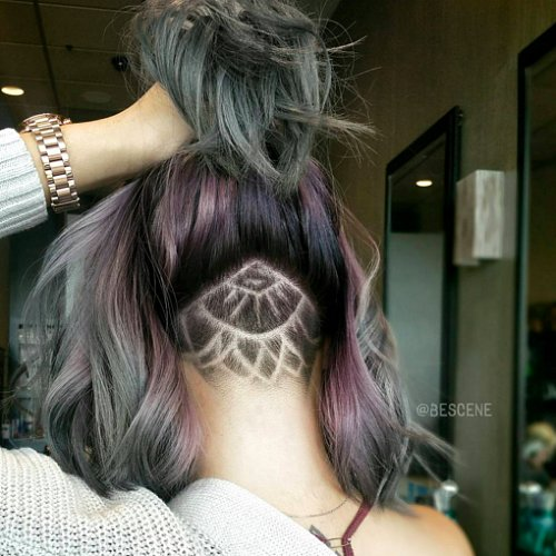 Undercut Tattoo Hair Trend