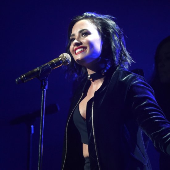 "Demi Lovato Sings ""Stone Cold"" on The Ellen DeGeneres Show"