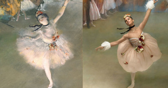 Misty Copeland Recreates Edgar Degas Masterpieces, Takes Our Breath Away