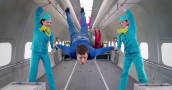 OK Go's New Zero-Gravity Music Video Is Out Of This World