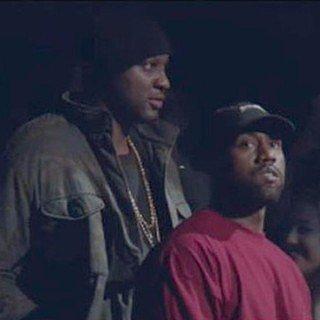 Lamar Odom at Kanye West's Yeezy Season 3 Show