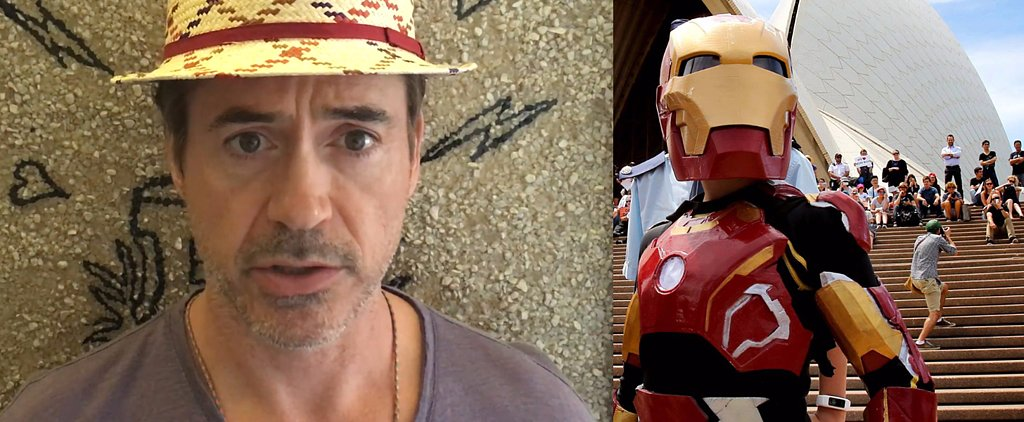 Robert Downey Jr.'s Supersweet Make-A-Wish Message
