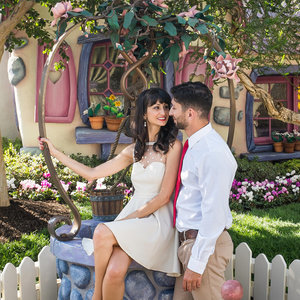 Disneyland Engagement Pictures