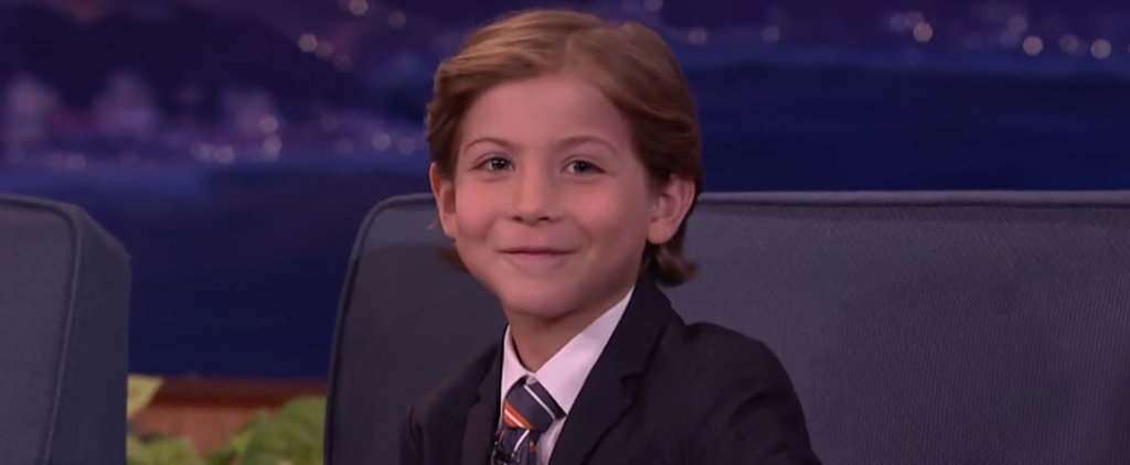 """Jacob Tremblay Gives Zoolander a Run For His Money With a Supercute """"Blue Steel"""" Impression"""