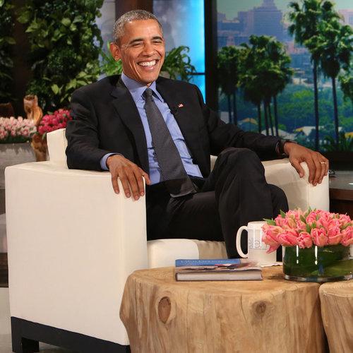 President Obama on The Ellen DeGeneres Show February 2016