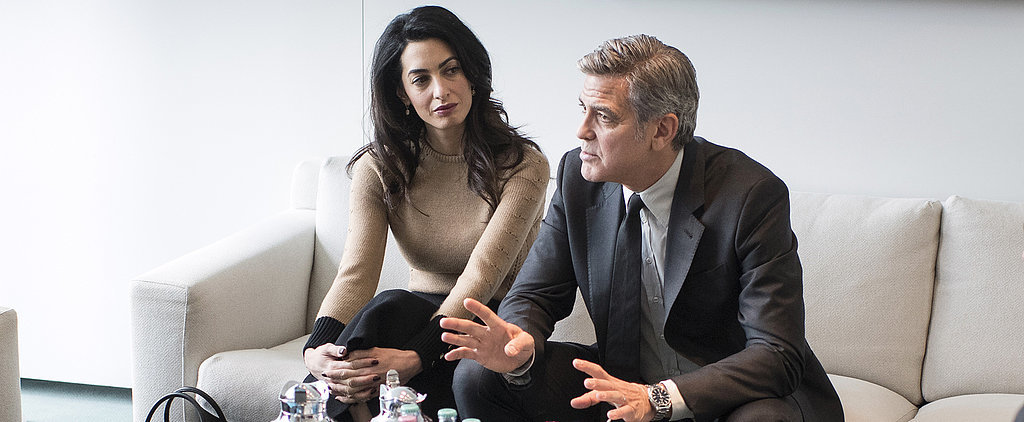 Amal Clooney Keeps It Simple, But Oh-So-Chic For a Meeting With the Chancellor