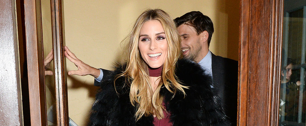 Olivia Palermo Kicks Off Fashion Week in Her Own Design