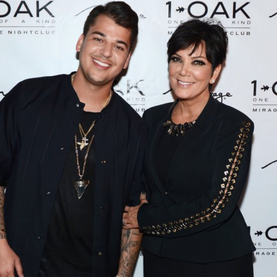 Kris Jenner Reveals How She Feels About Rob Kardashian Dating Blac Chyna