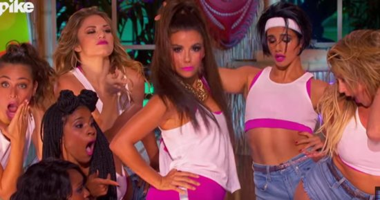Eva Longoria Pays Homage To Nicki Minaj With 'Anaconda' Performance On 'Lip Sync Battle'