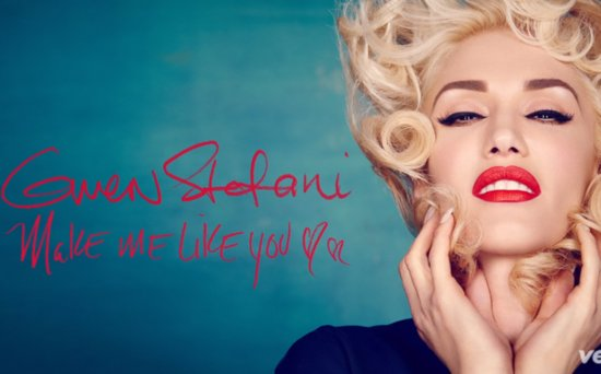 FROM EW: Hear Gwen Stefani's New Single 'Make Me Like You' - Is It About Boyfriend Blake Shelton?