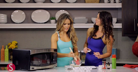 Make 1-Minute Microwave Cookies with the Tone It Up Girls
