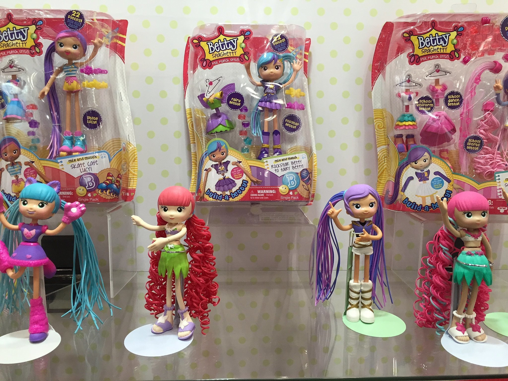 Betty Spaghetti Toys : Betty spaghetty see all brand new toys your kids