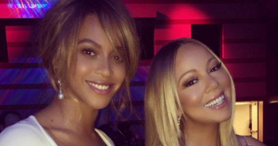 The Star Power Of This Beyoncé-Mariah Carey Photo Will Blind You