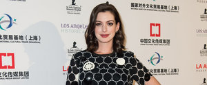 Anne Hathaway Rocks Denim Overalls and Braces in Her Latest Instagram Snap